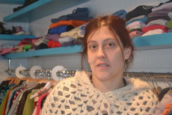 Fanny, montreuilloise depuis 7 ans,  vient d'ouvrir un dépôt-vente de vêtements pour enfants.