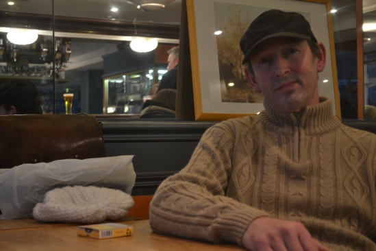 Antoine, 49 ans, un habitant depuis 4 ans,  a passé sa vie en banlieue parisienne.