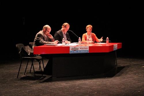 Conférence au forum Libération, périurbain : mobilité forcée ou mobilitée choisie (crédit Ludovic Clérima)