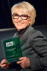 Francette Gaudin, vice-présidente en charge des déplacements et de la mobilité urbaine de la Communauté d'aglomération de Cergy-Pontoise. (Crédits : Antoine Devouard - CA de Cergy-Pontoise)