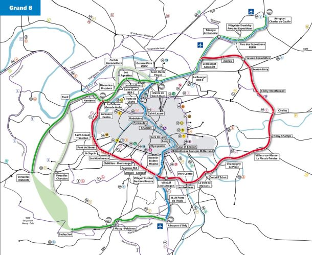 La feuille de route du supermétro francilien sera précisé par le Premier ministre Jean-Marc Ayrault mercredi 6 mars.