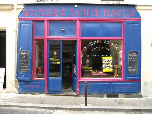 La Rôtisserie, pionnier des restaurants associatifs parisiens  (Photo : Flickr/Dirtykoala)